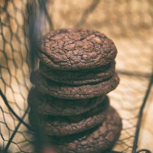 Cookies brownie z chilli