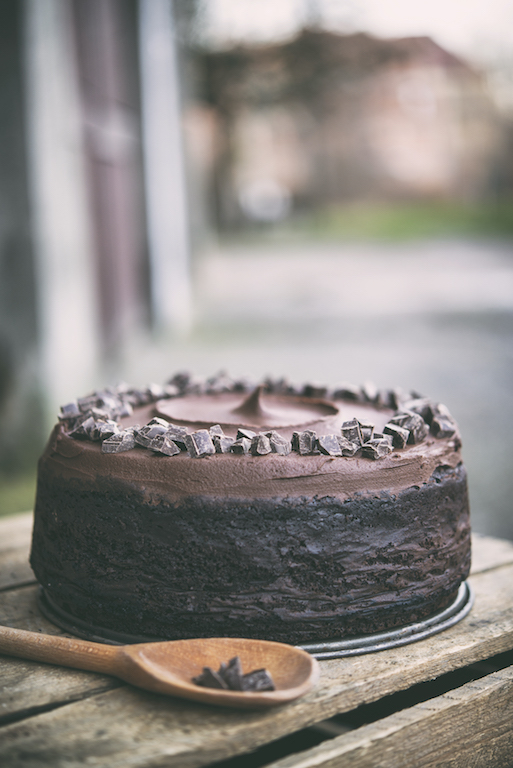 Ciasto Czekoladowe Missisippi Mud Cake