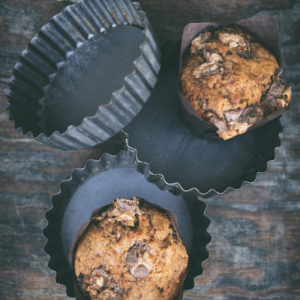 Muffinki bananowy z snickersem_2